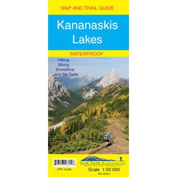 Kananaskis Lakes Map Waterproof