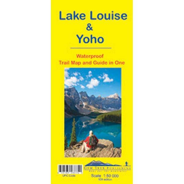 Lake Louise & Yoho Map Waterproof