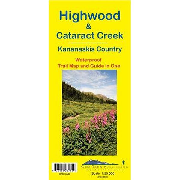 Highwood & Cataract Map Waterproof