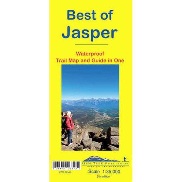 Best of Jasper Map 5th Edition