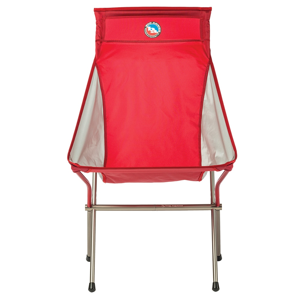 Big Six Camp Chair - Red/Gray
