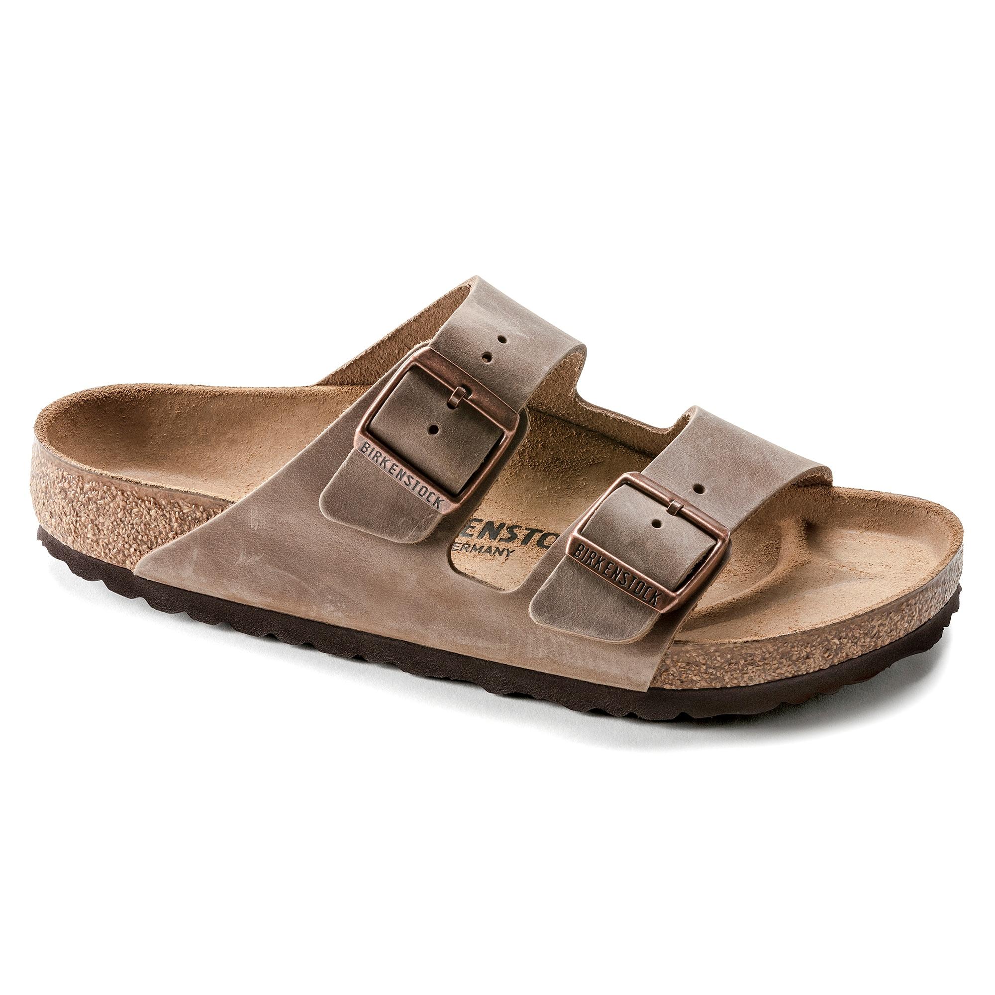 Arizona Leather Narrow Sandal