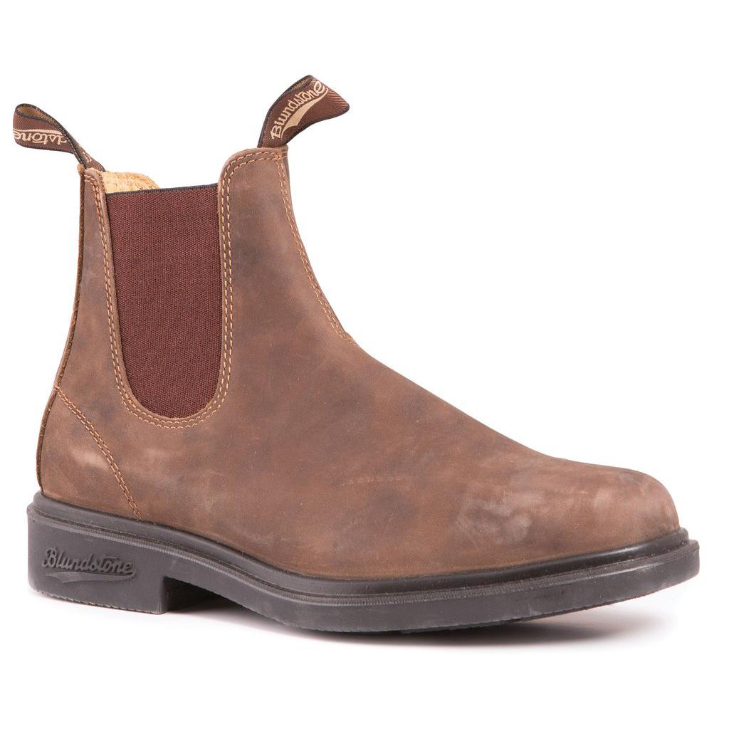 Chisel Toe Boot Rustic Brown