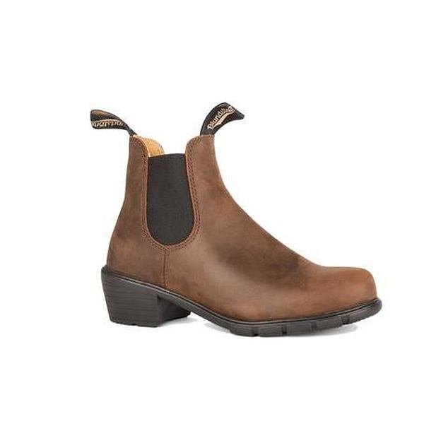 Series Boot with Heel Antique Brown - Women's