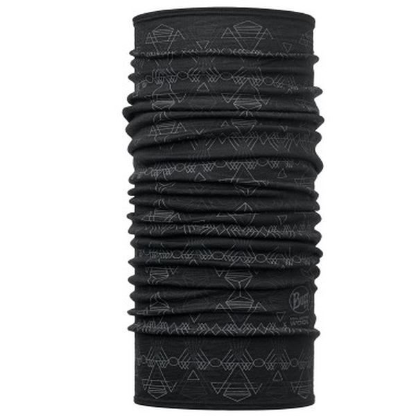 Dagger Black Lightweight Merino Buff