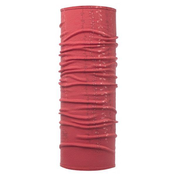 Niah Scarlet Red Lightweight Merino Buff