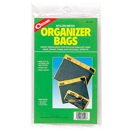 Set of 3 Organizer Bags