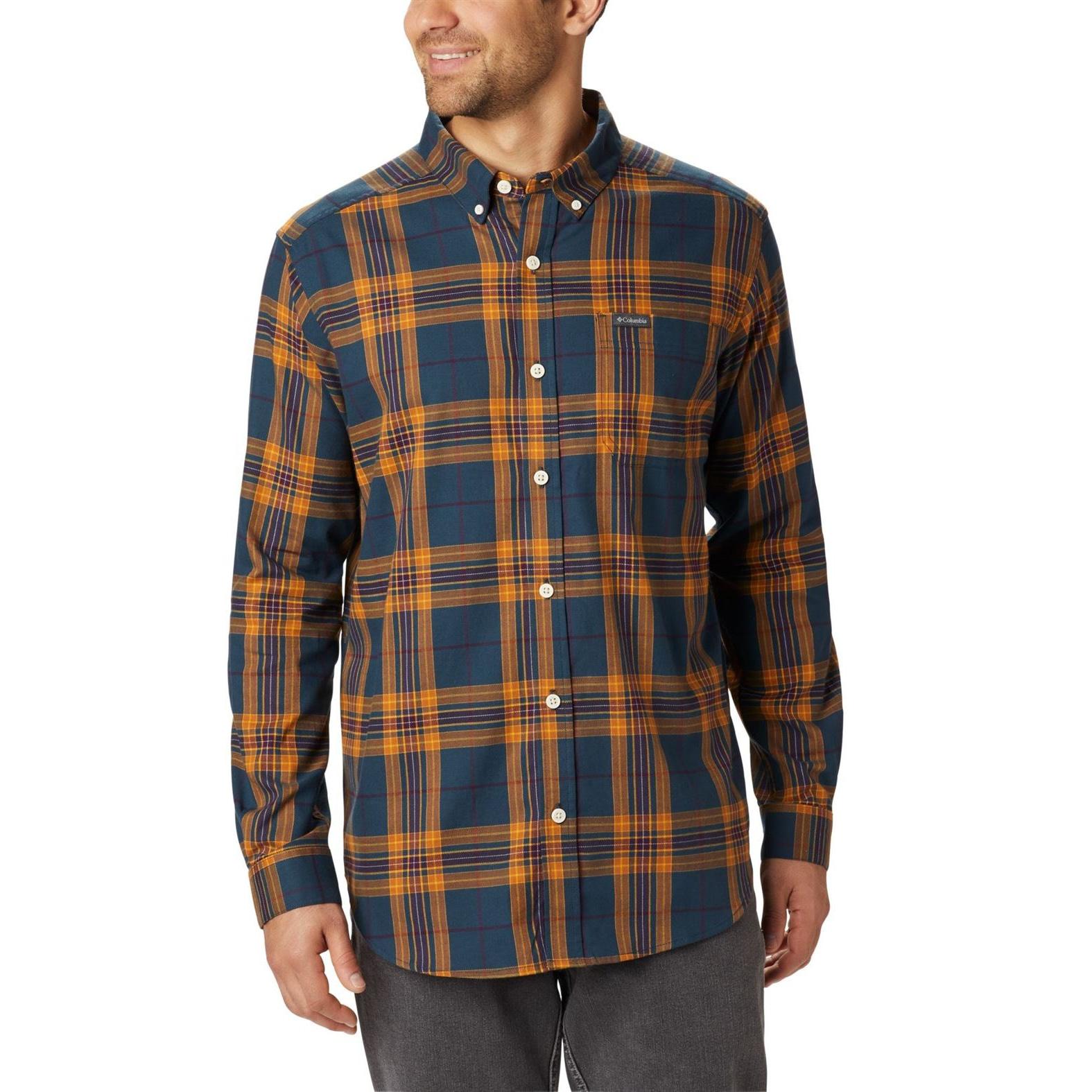 Rapid Rivers II Shirt Long Sleeve Plus - Men's