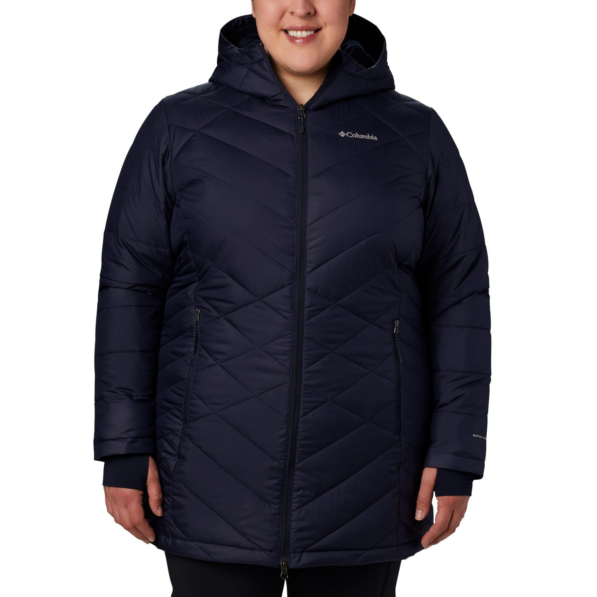 Heavenly Long Hooded Jacket Plus - Women's