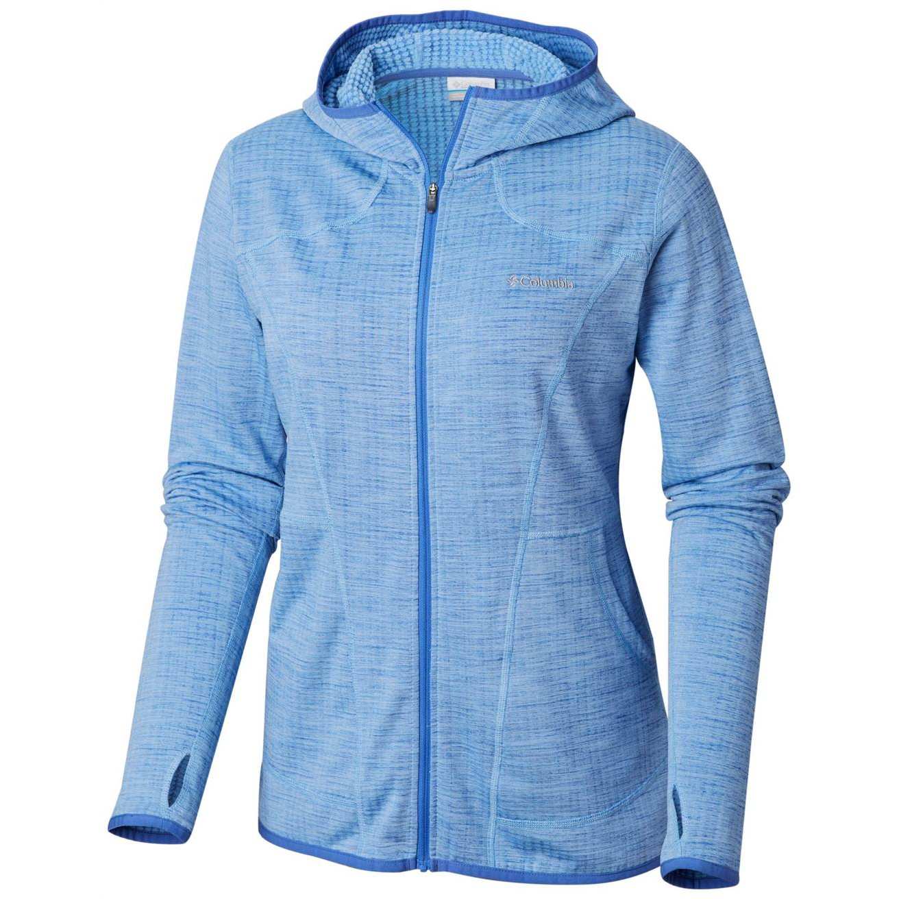 Feather Brush Full Zip Fleece - Women's