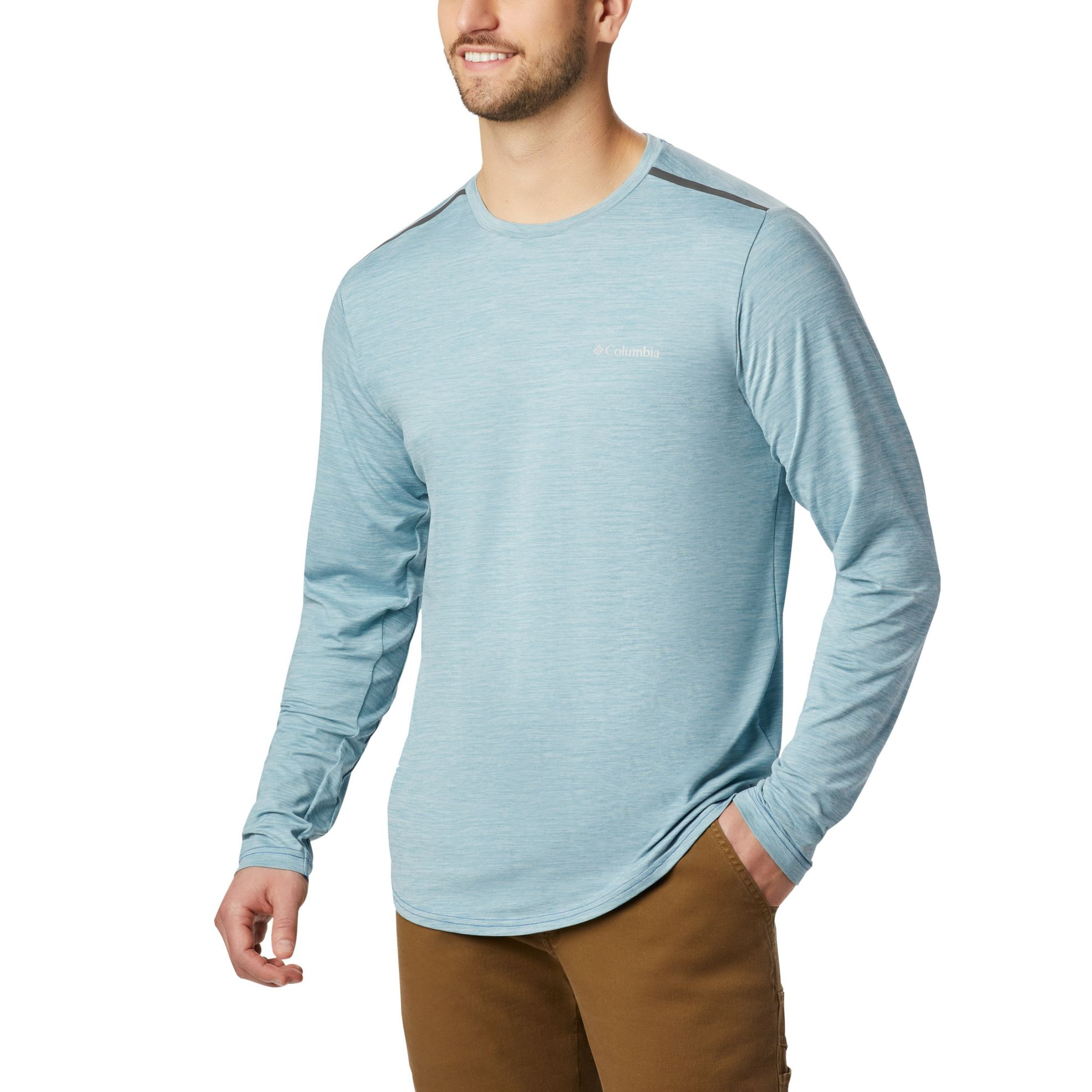 Tech Trail II Crew Long Sleeve - Men's