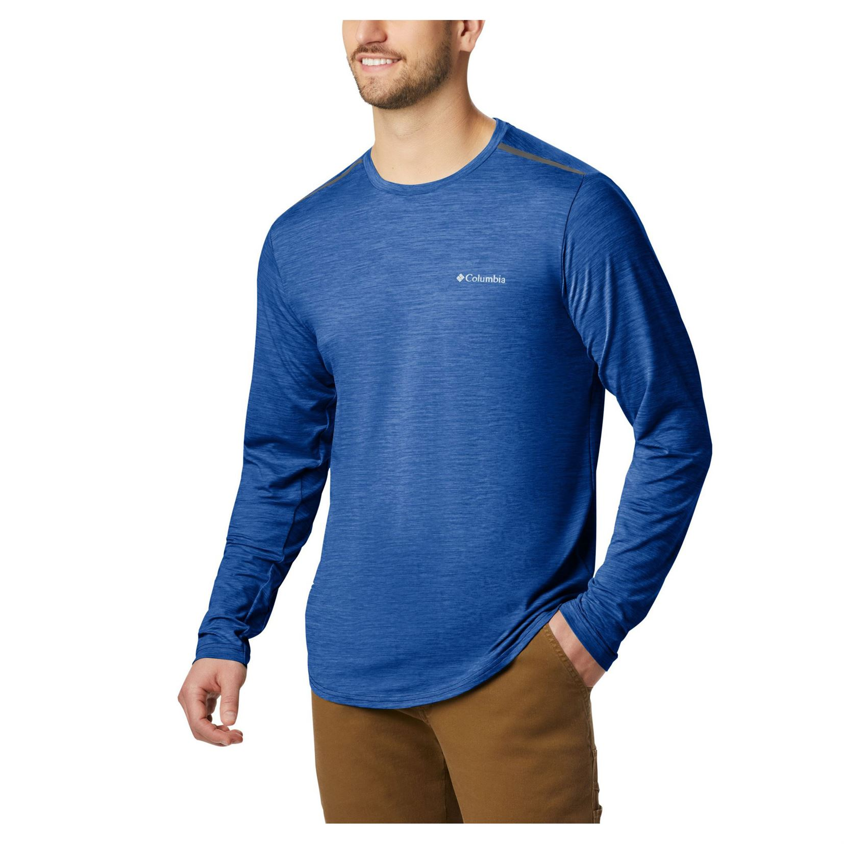 Tech Trail II Crew Long Sleeve Plus - Men's