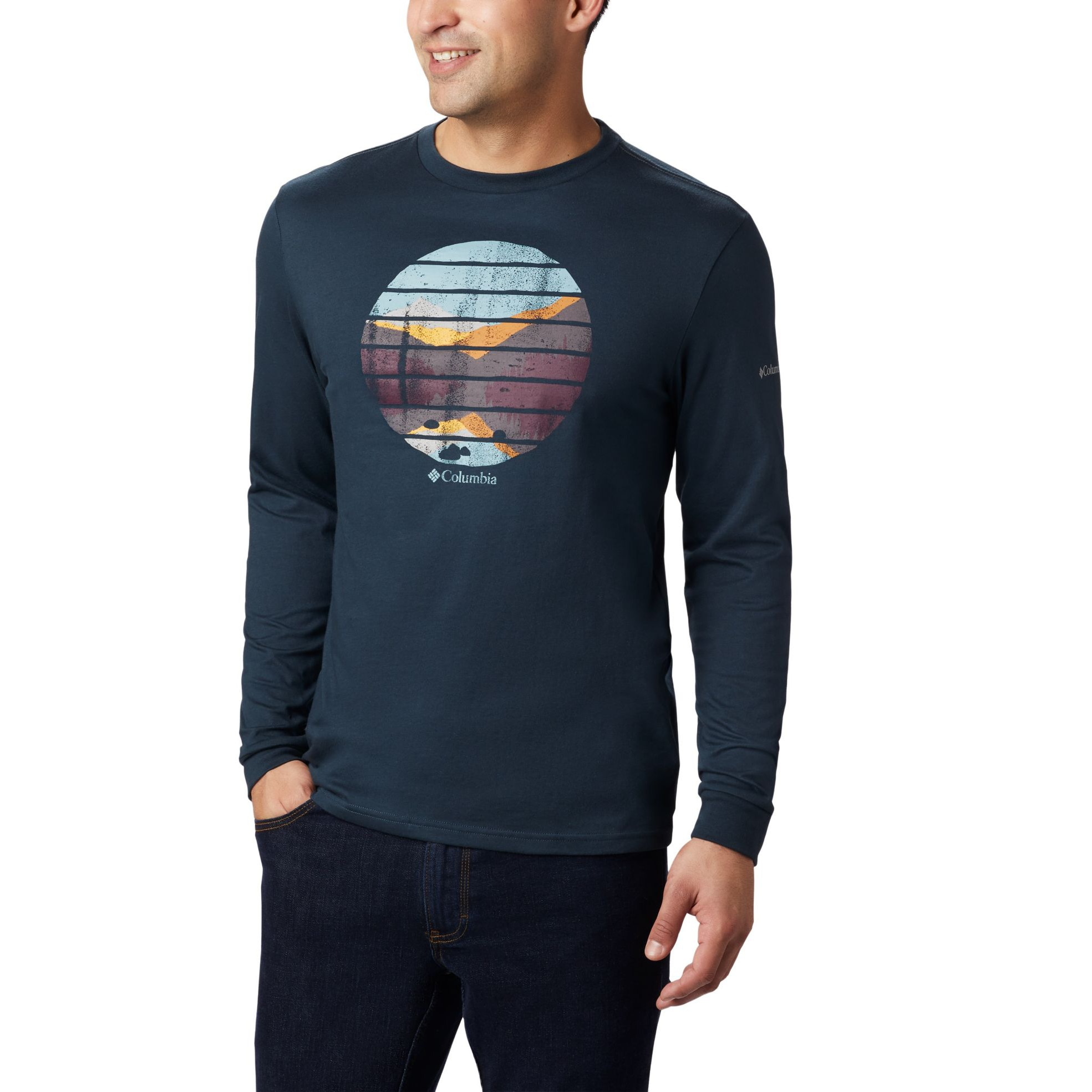 Cades Cove Graphic Tee Long Sleeve - Men's