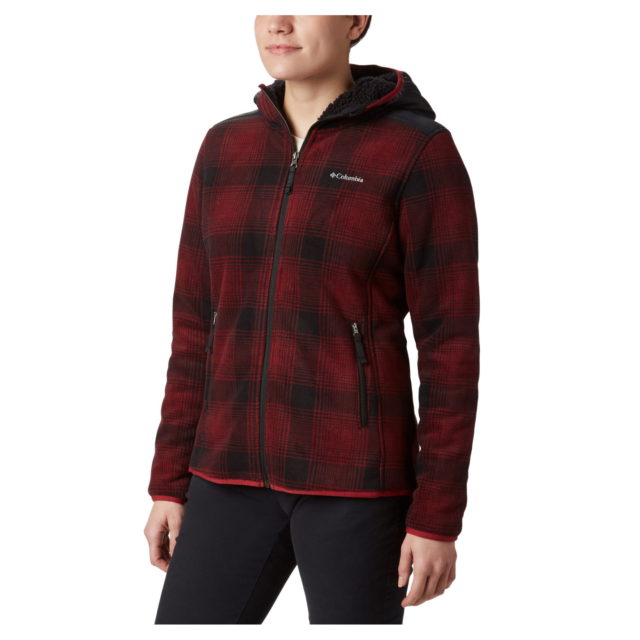 Winter Pass Print Fleece Jacket - Women's