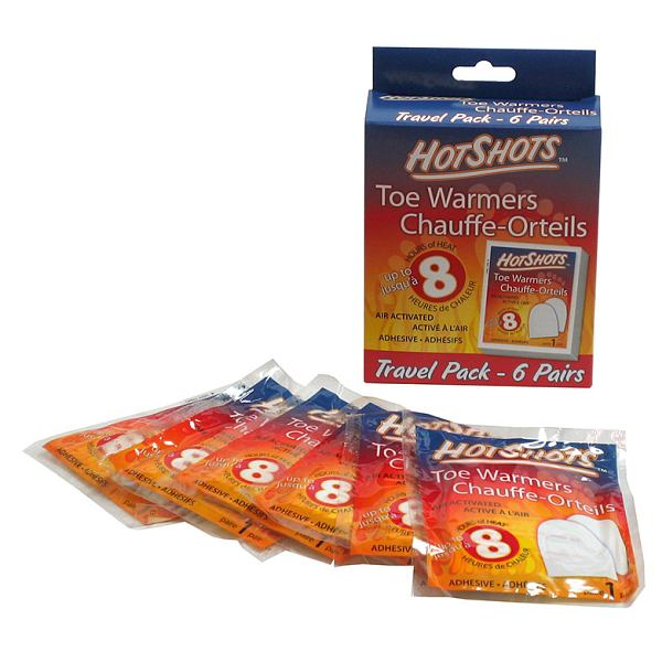 HotShots Toe Warmers 6 Pack