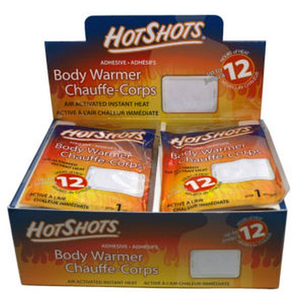 Hot Shots Adhesive Body Warmer