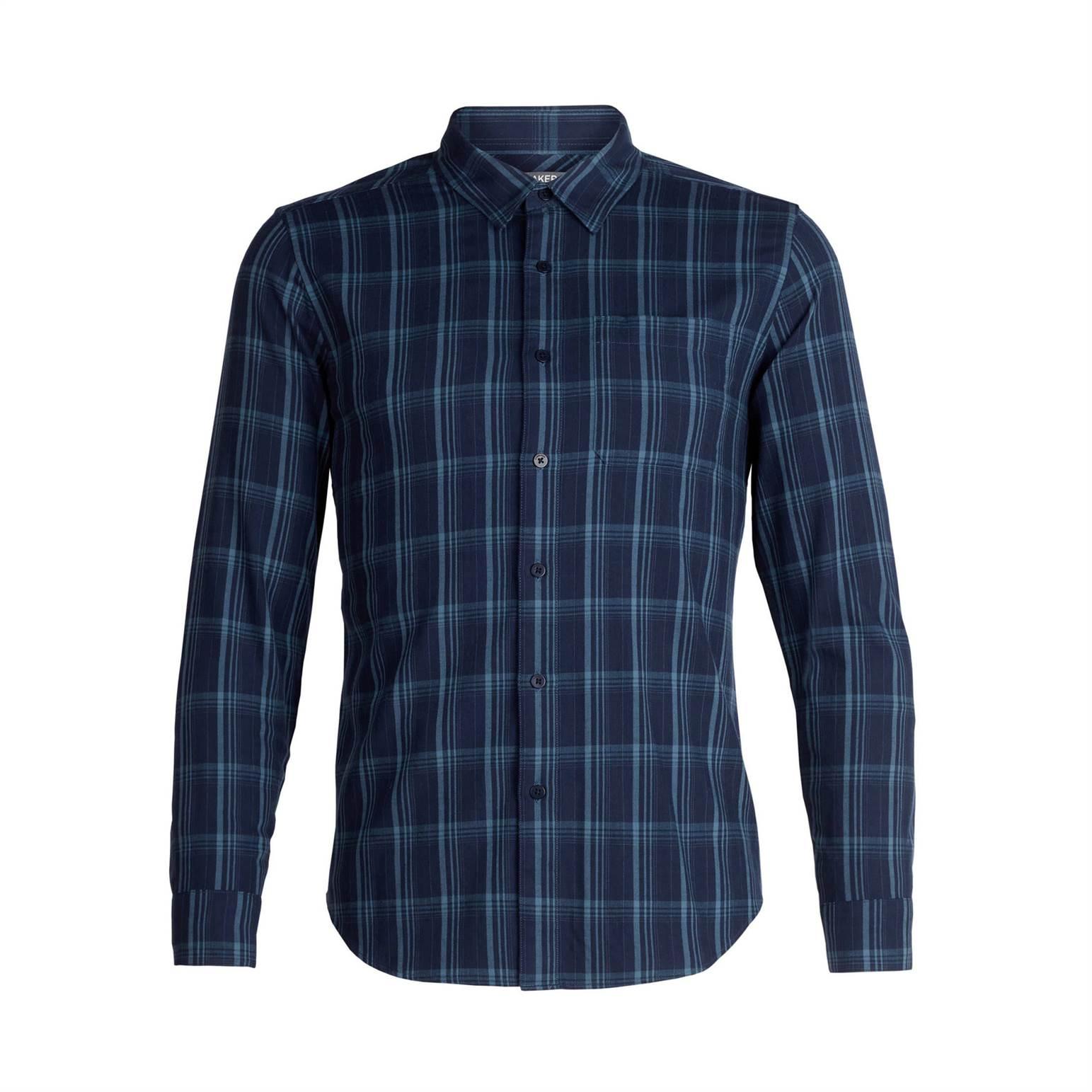 Compass Flannel Shirt Long Sleeve - Men's