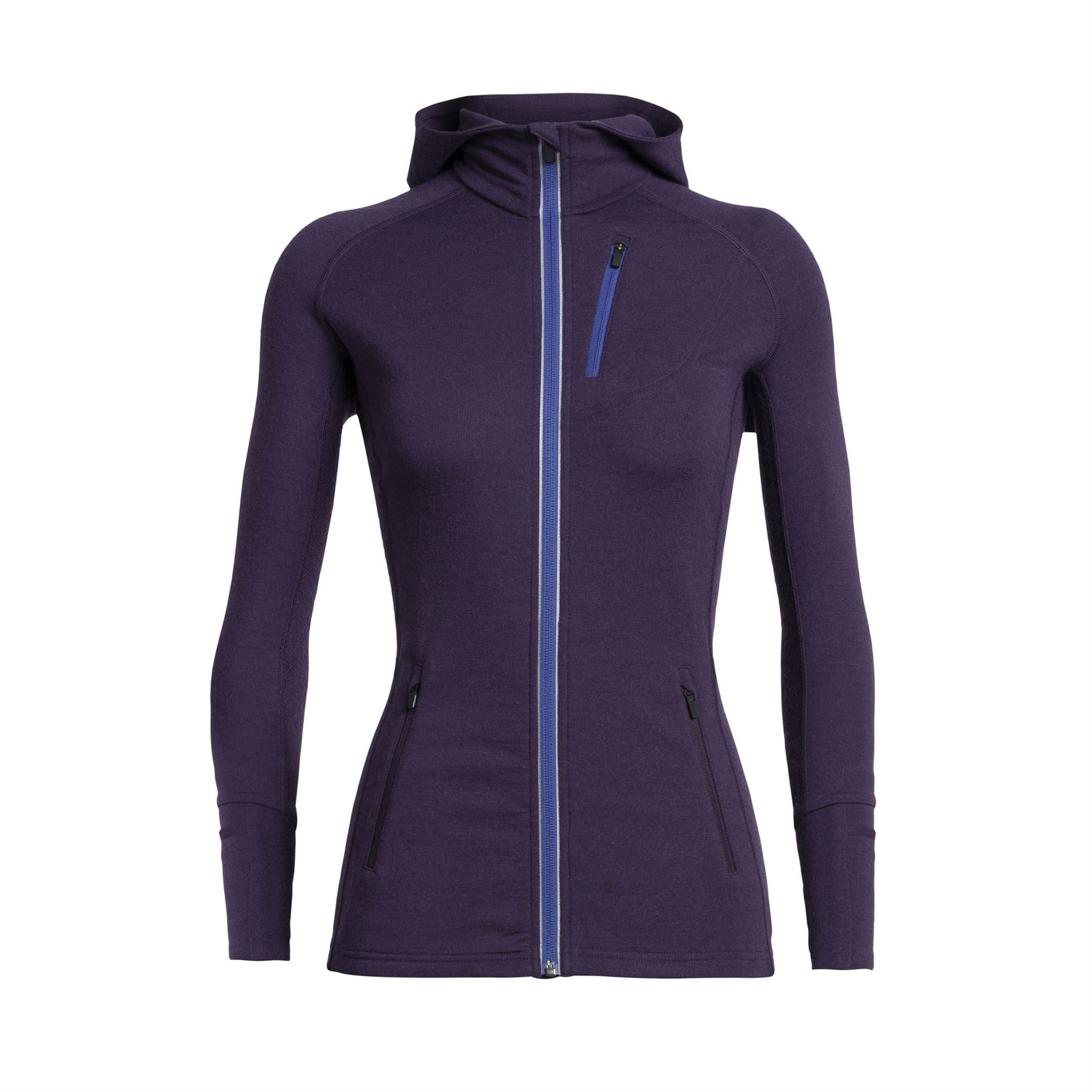 Quantum Zip Hood Long Sleeve - Women's
