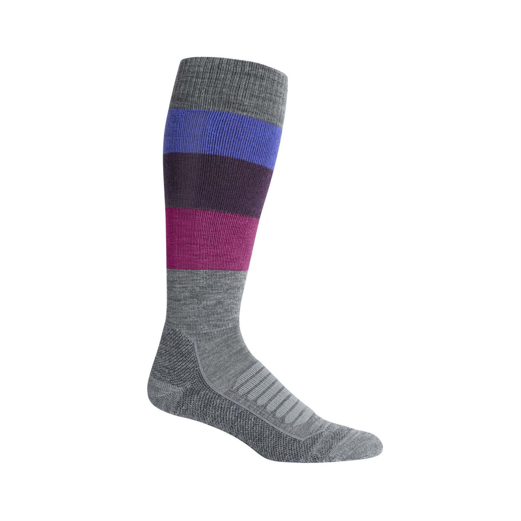 Ski+ Medium Over The Calf Wide Stripe Sock - Women's
