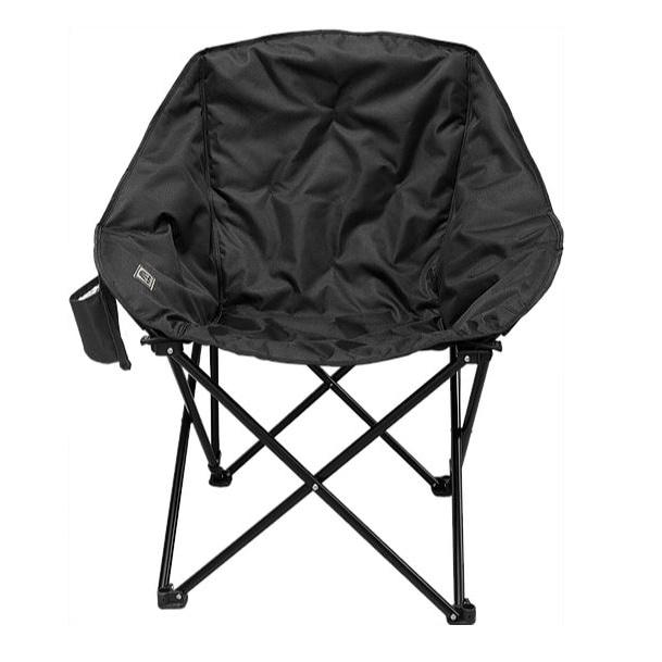 Half Moon Chair Black