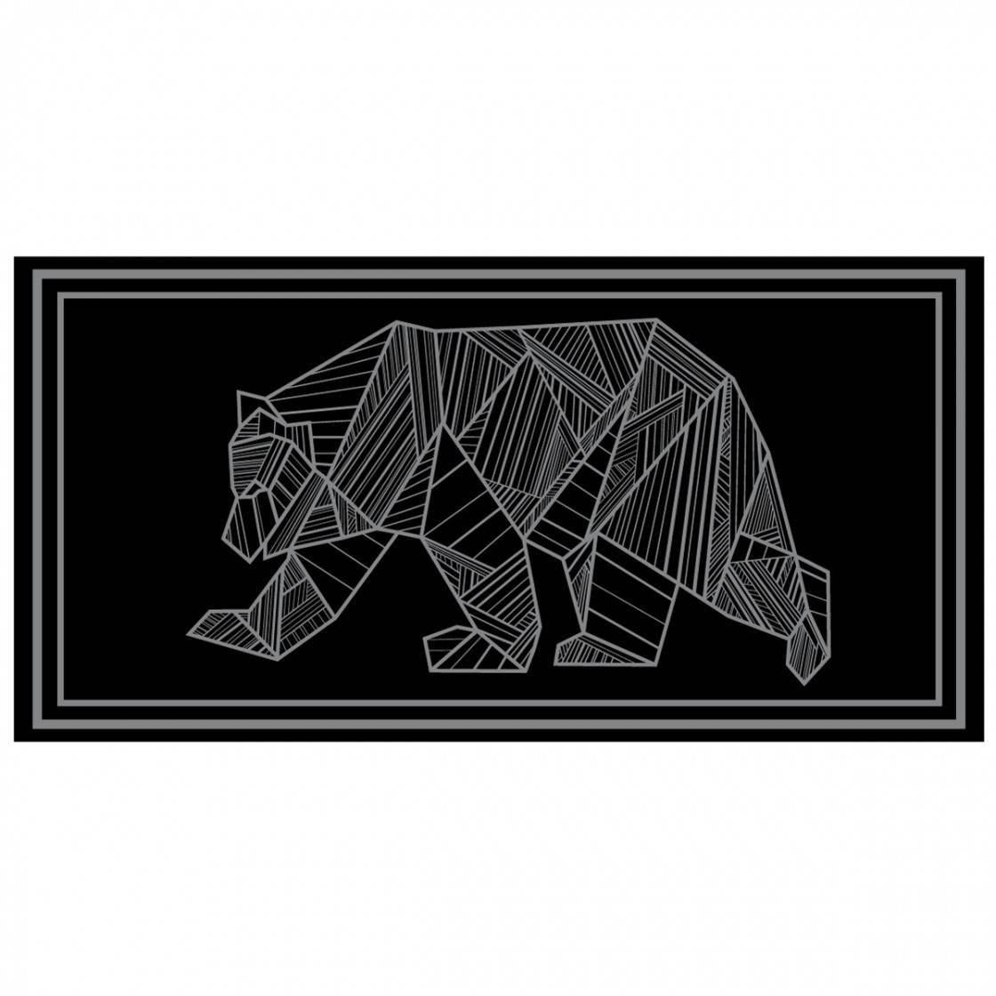 RV Mat Bear 18x9 - Grey