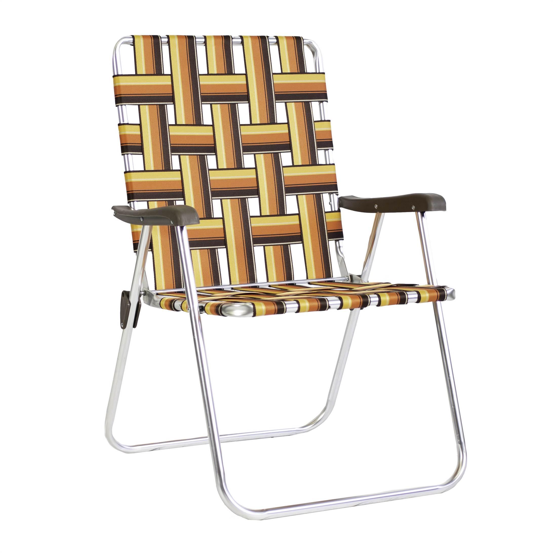 Kelso Backtrack Chair - Orange/Brown
