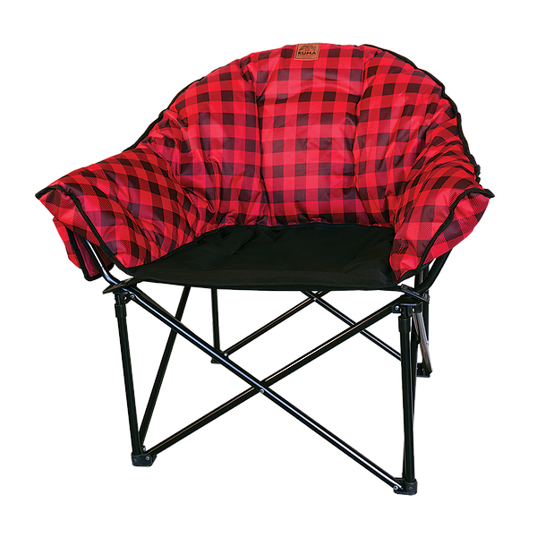 Lazy Bear Chair Plaid