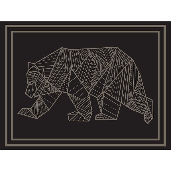 RV Mat Bear 12x9