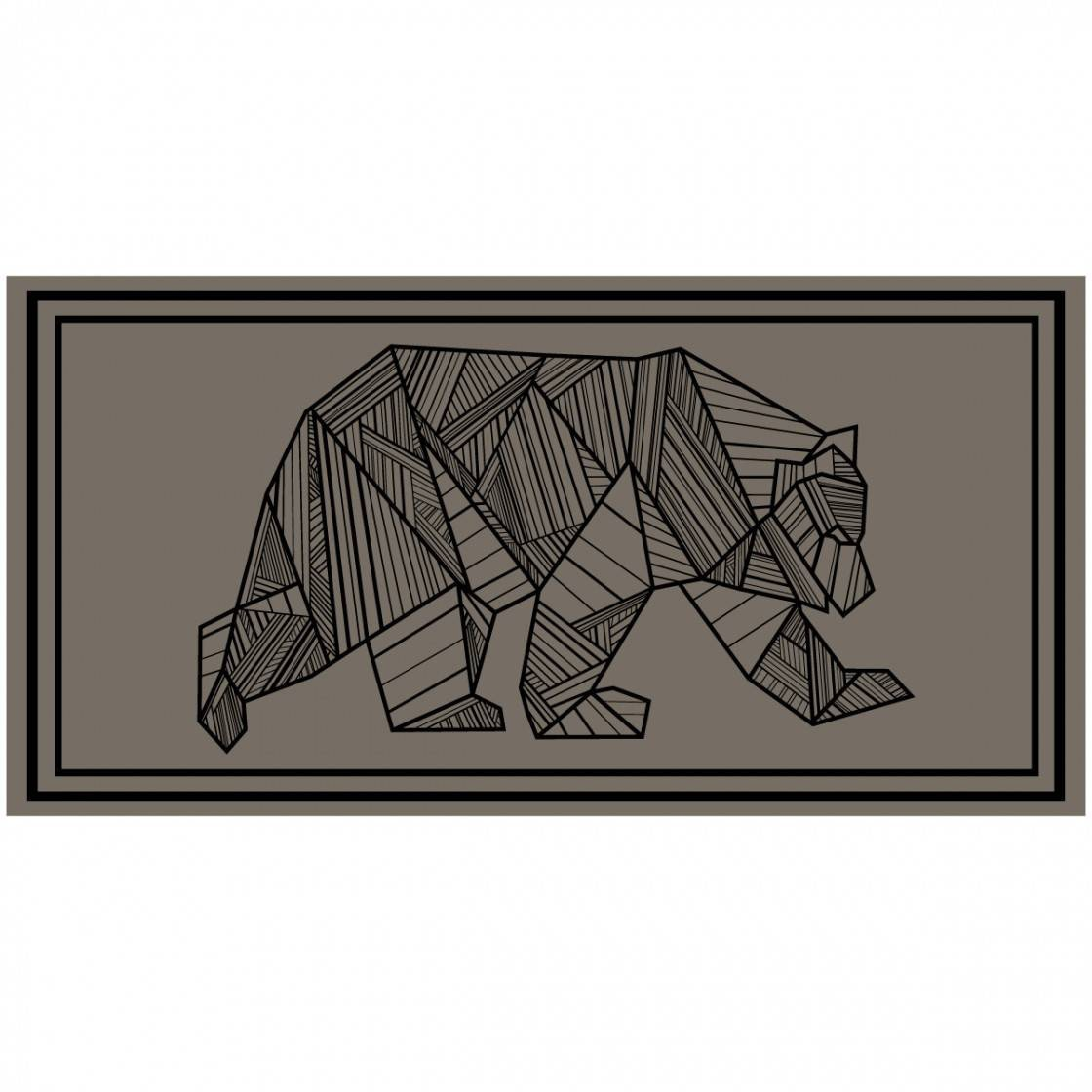 RV Mat Bear 18x9