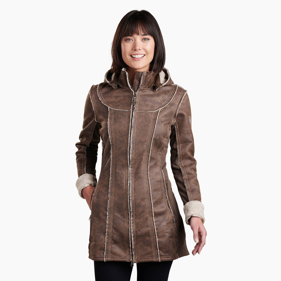 Dani Sherpa Trench - Women's