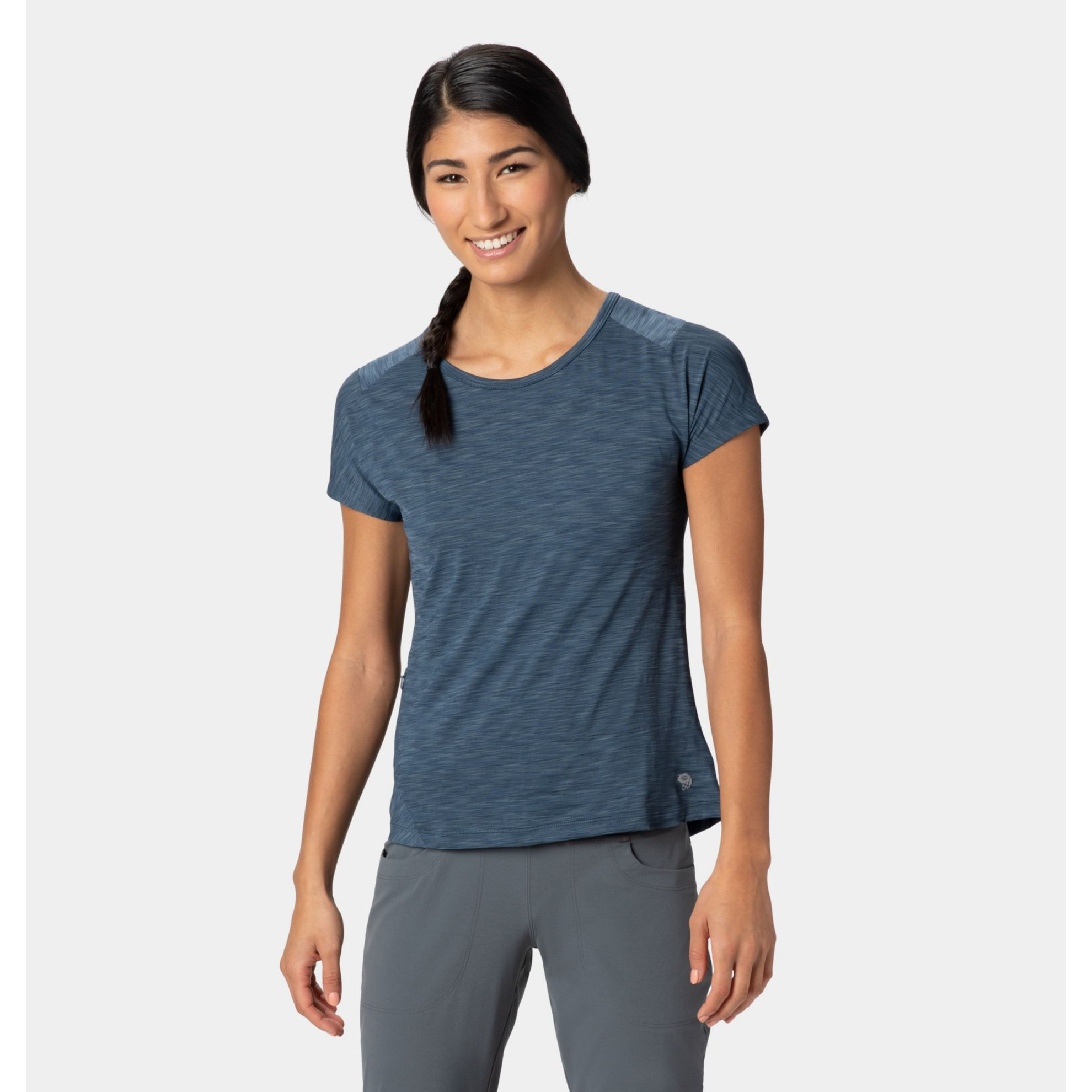 Mighty Stripe Tee Short Sleeve - Women's