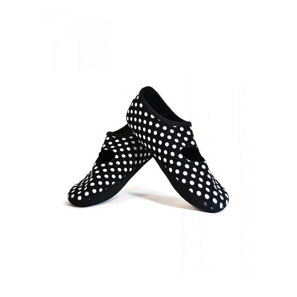 Black/White Dot Mary Janes Medium - Women's