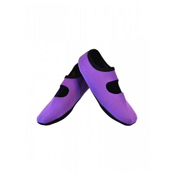 Purple Mary Janes Xlarge - Women's