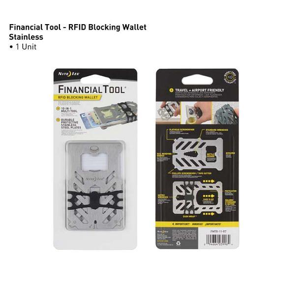 Financial Tool RFID Wallet