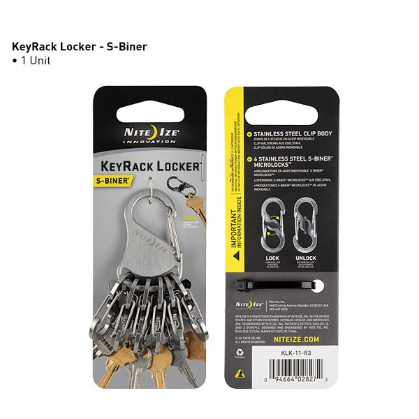 KeyRack Locker Stainless Steel
