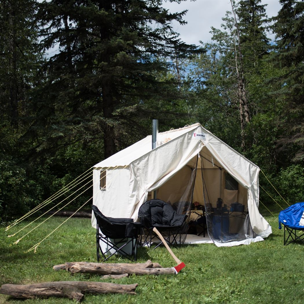 10 x 12 x 5 ft 7 Deluxe Wall Tent