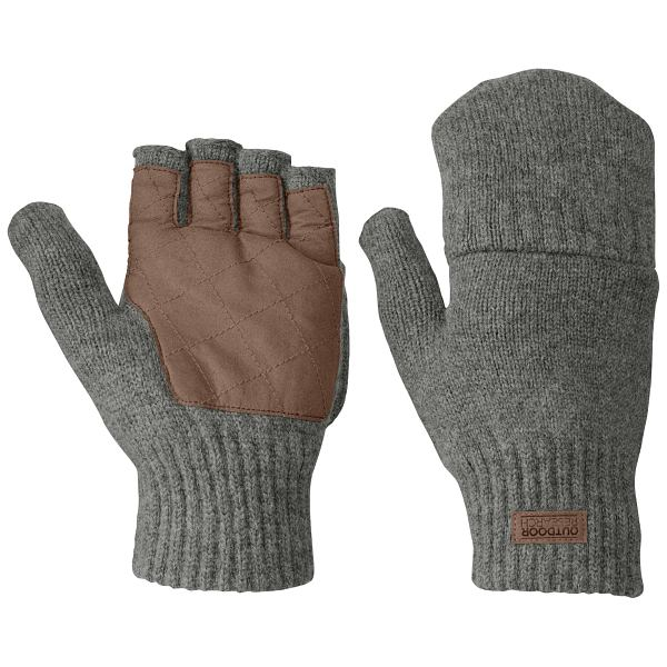 Lost Coast Fingerless Mitts - Men's