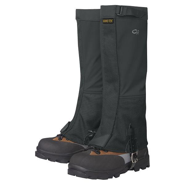 Crocodile Gaiter Black - Women's