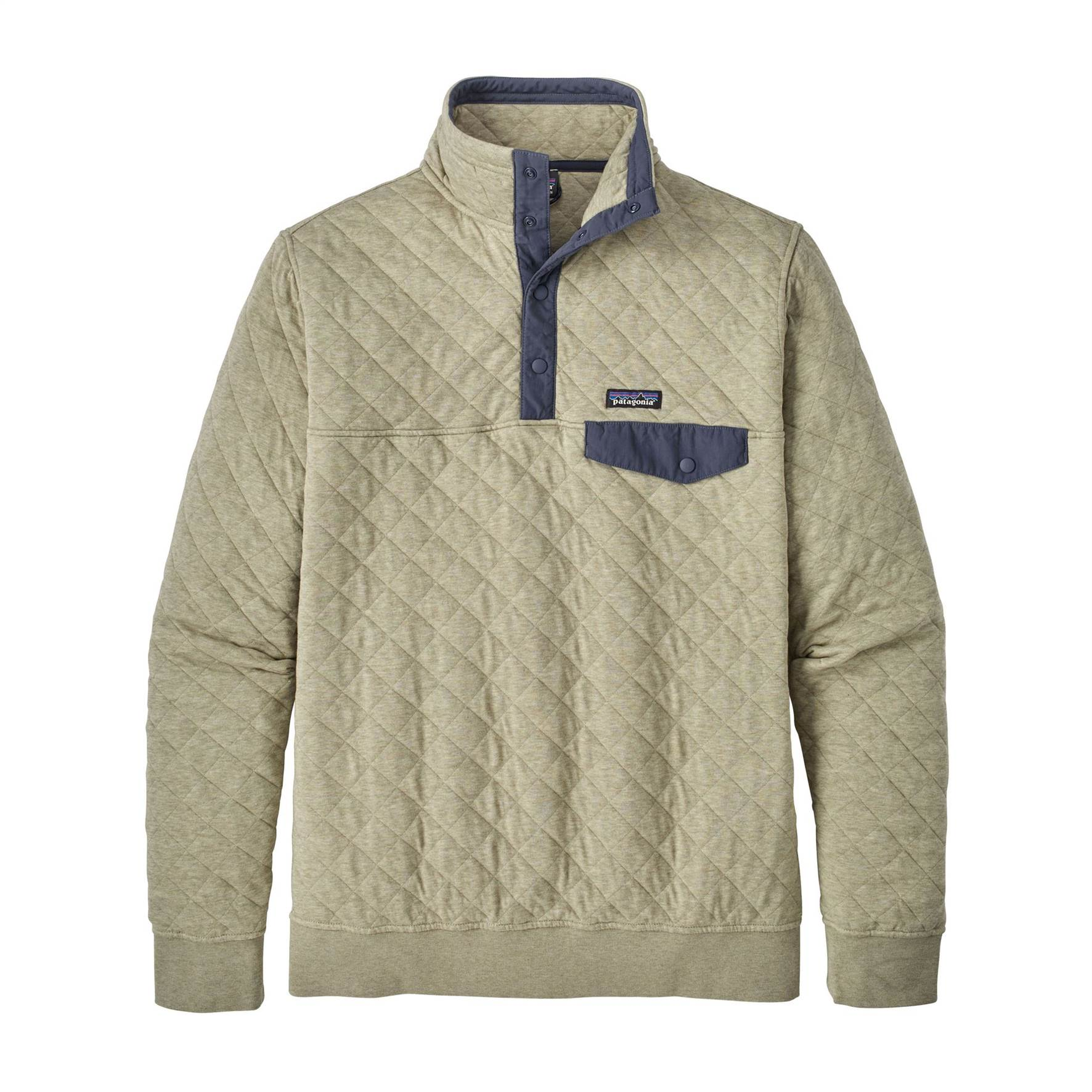 Organic Cotton Quilt Snap T Pullover - Men's