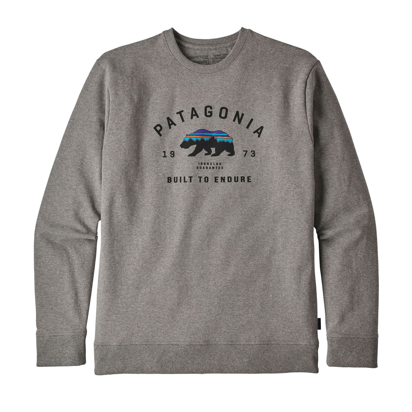 Arched Fitz Roy Bear Uprisal Crew Sweatshirt - Men's