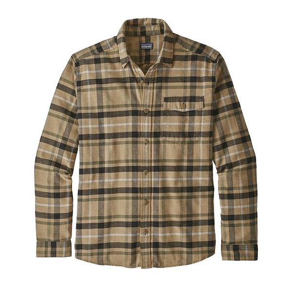 Lightweight Fjord Flannel Shirt Long Sleeve - Men's