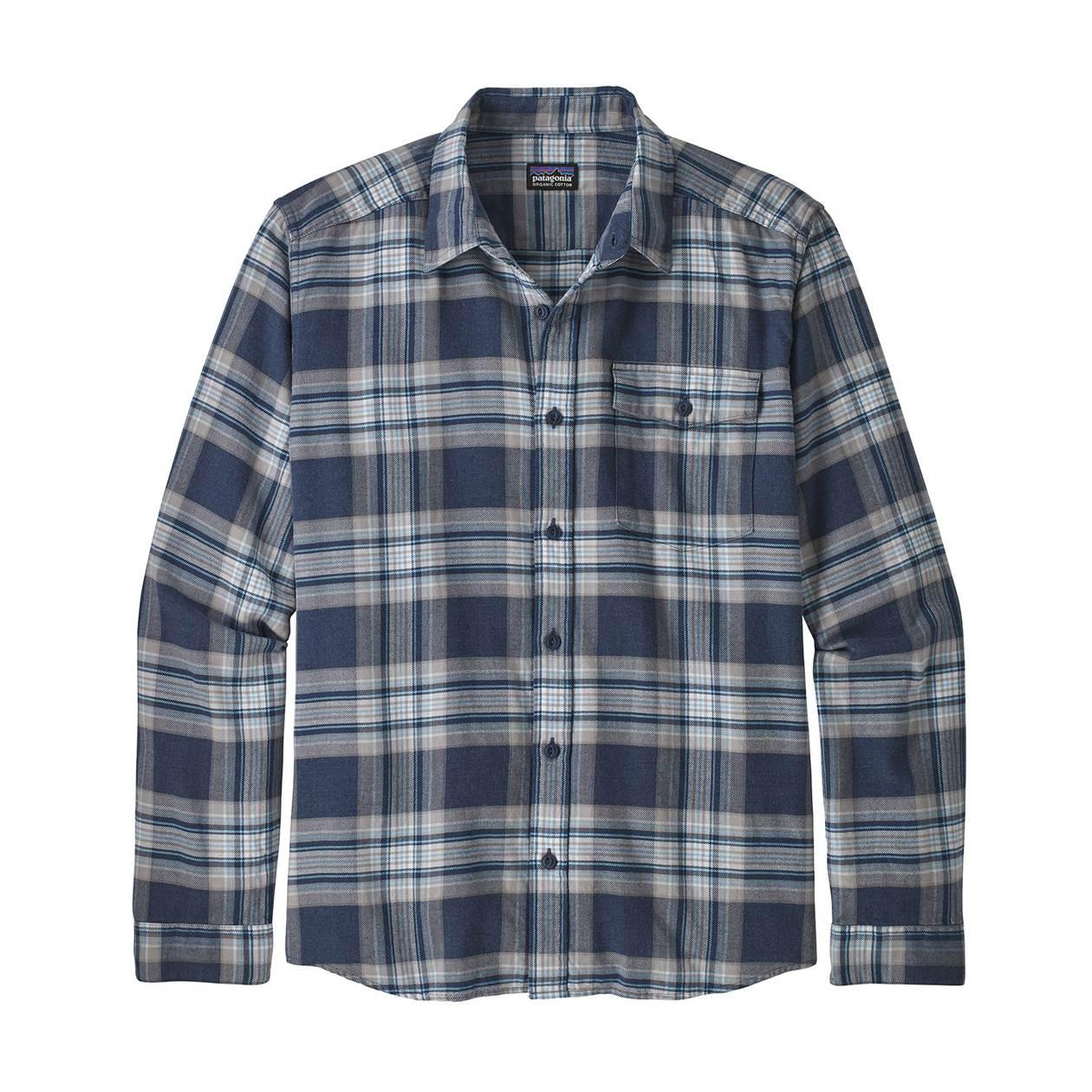 Lightweight Fjord Flannel Shirt Long Sleeve - Men's
