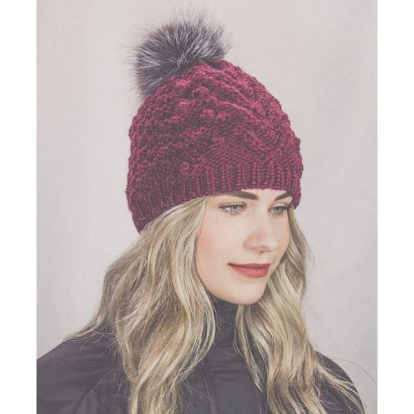 630823c4c06 Fox Fur Pompom Hat - Winter Hats - Hats - Accessories - Men - Clearance