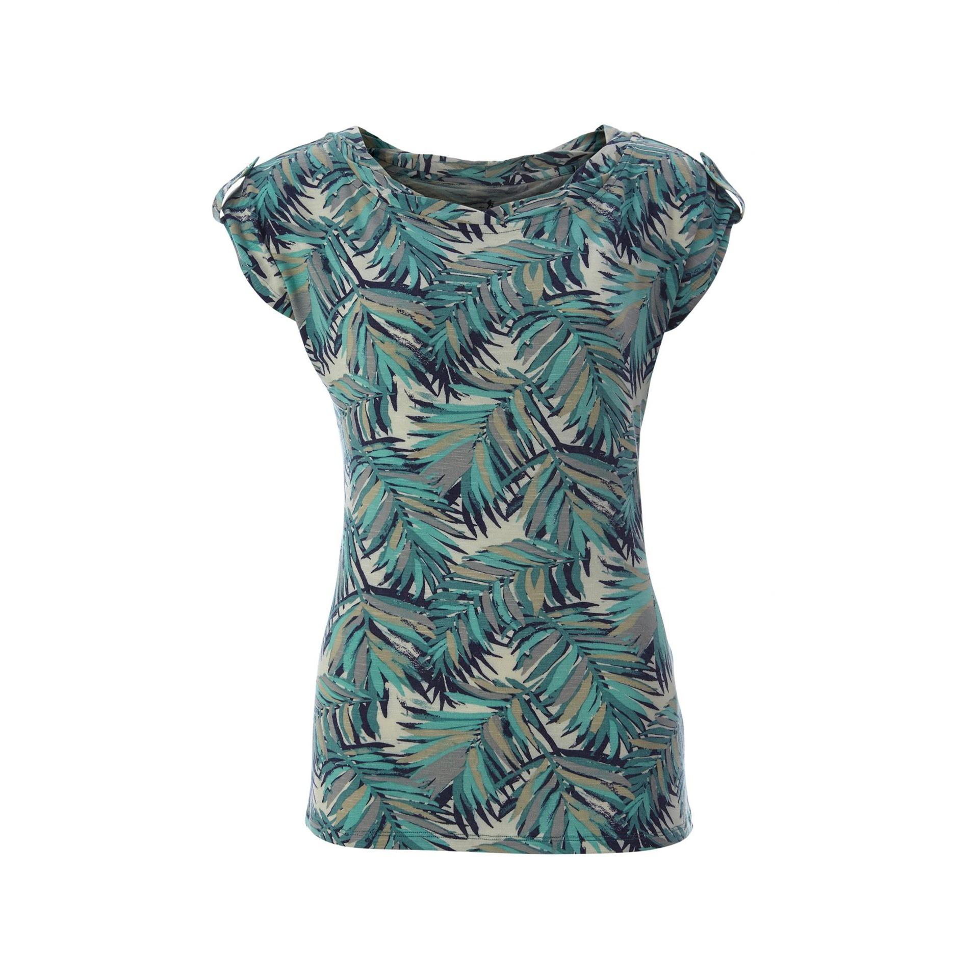 Noe Twist Print Short Sleeve - Women's