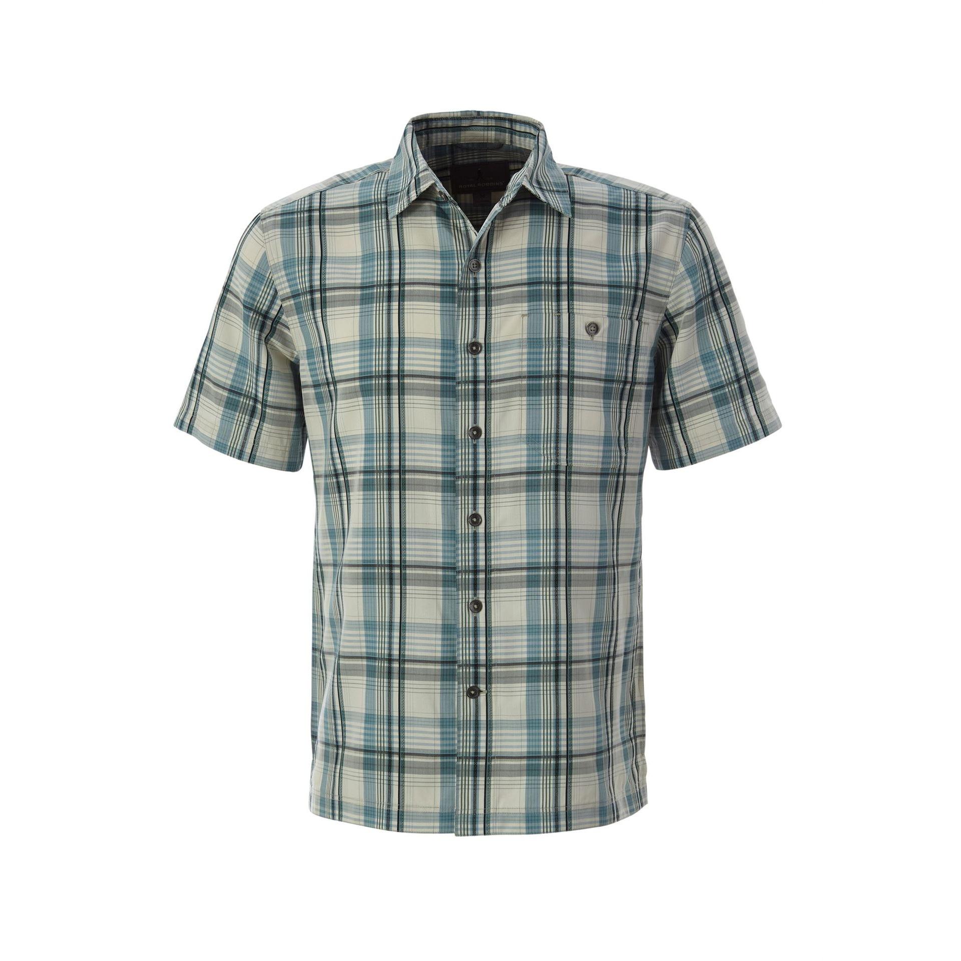 Mojave Dobby Plaid Short Sleeve - Men's