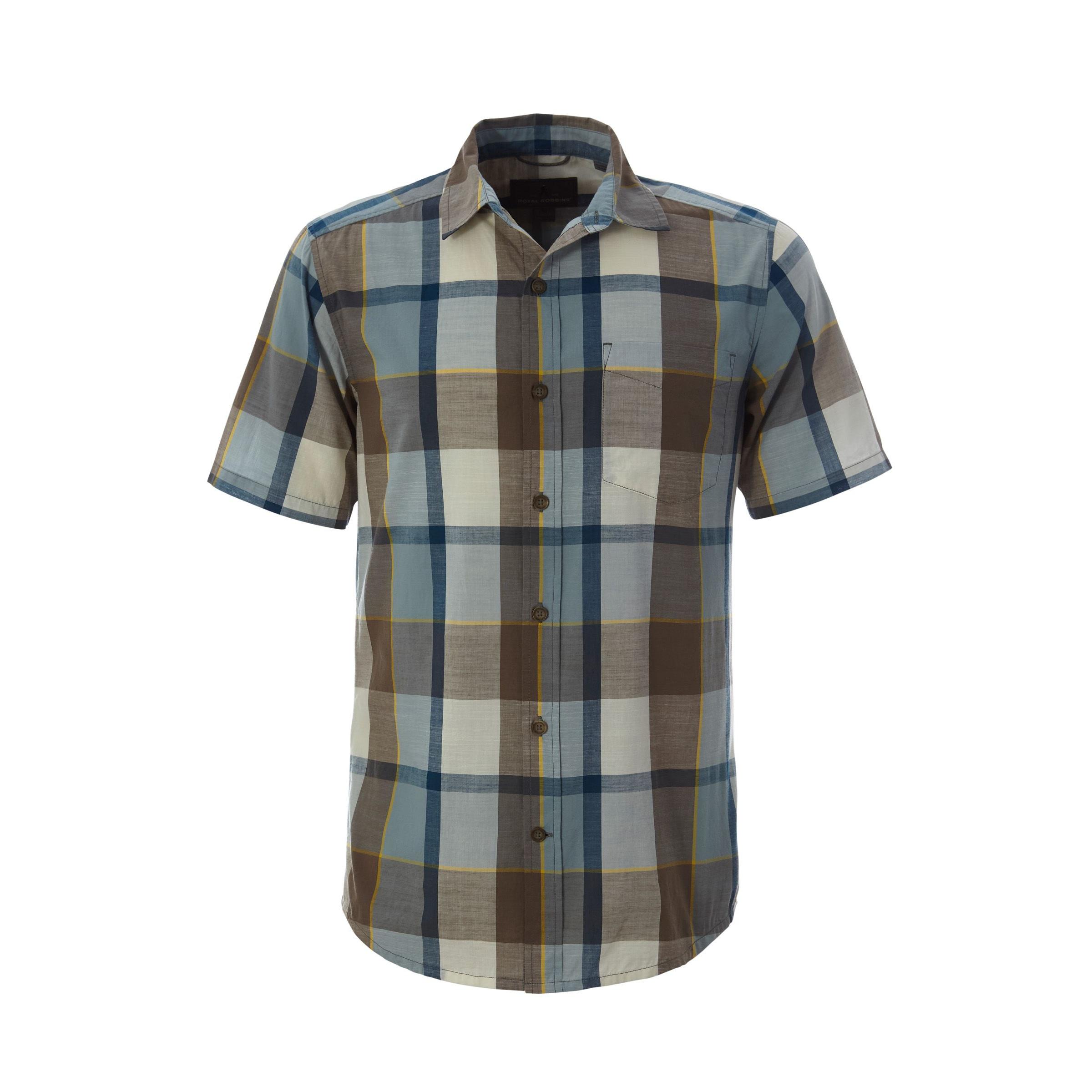 Sawtooth Plaid Short Sleeve - Men's