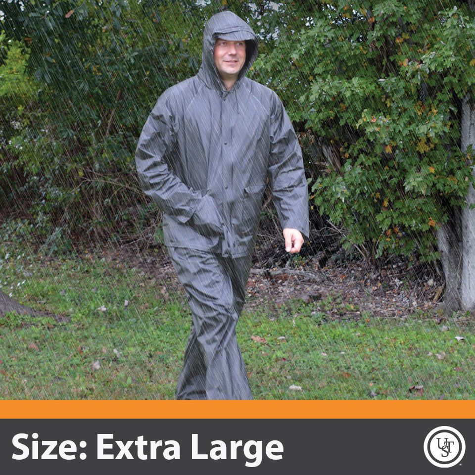 All-Weather Adult Rain Suit XLarge