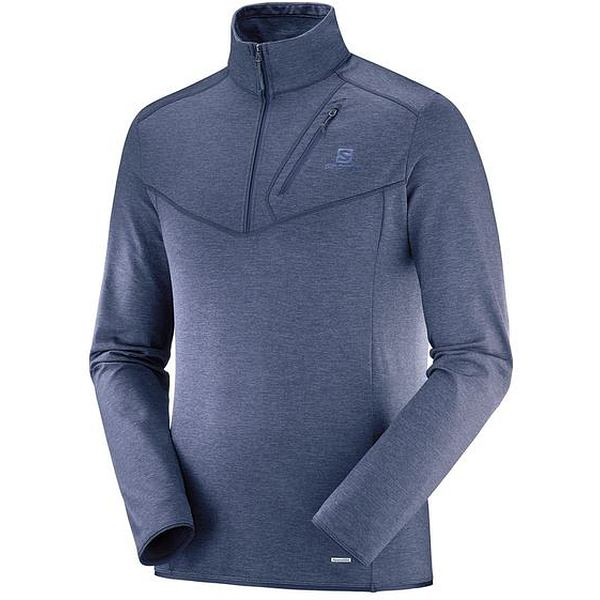 Discovery Half Zip Night Sky Heather - Men's