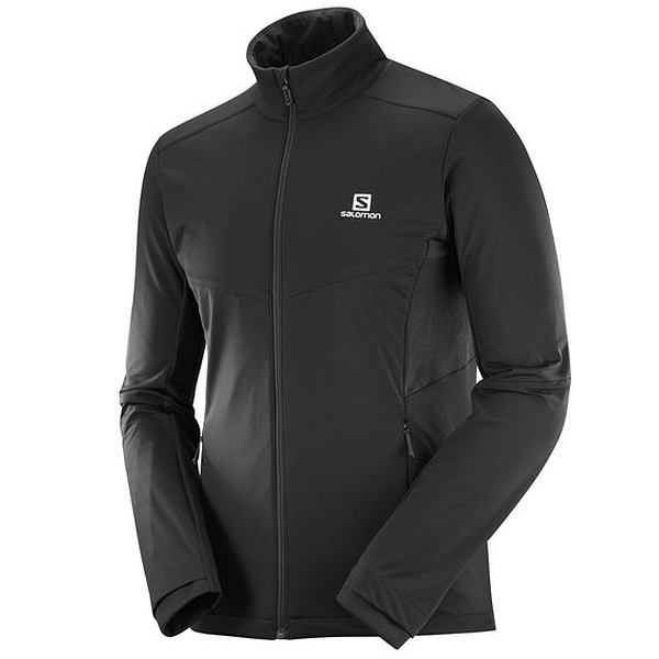 Agile Warm Jacket Black - Men's