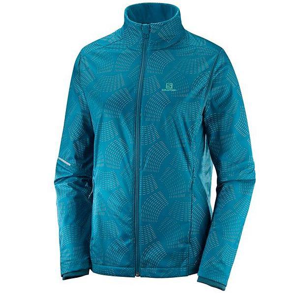 Agile Warm Jacket Lagoon - Women's